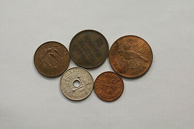 Many Old World Coins Useful Lot B10 Syg30
