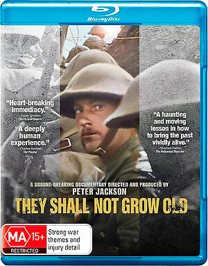 They Shall Not Grow Old (Blu-ray, 2019) (Region B) New Release