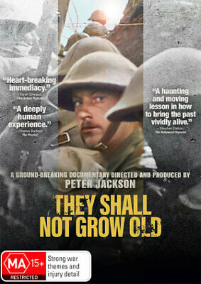 They Shall Not Grow Old (DVD, 2019) (Region 4) New Release