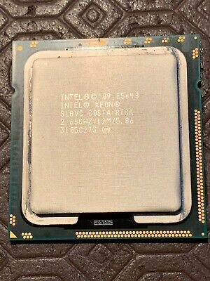 Intel Xeon E5640 2.66GHz 5.86GT/s Quad Core12MB SLBVC CPU Processor