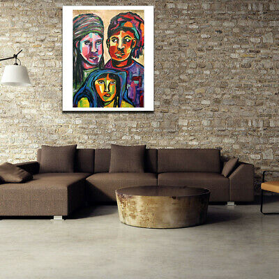 Art Painting Canvas Character Painting Family Poster Living Room Picture Decor