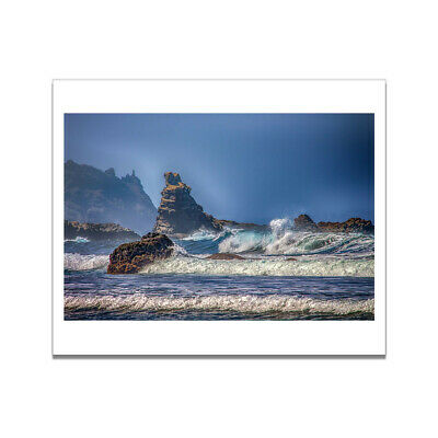Art Painting Natural Ocean Landscape Waves Poster Home Picture Wall Room Decor