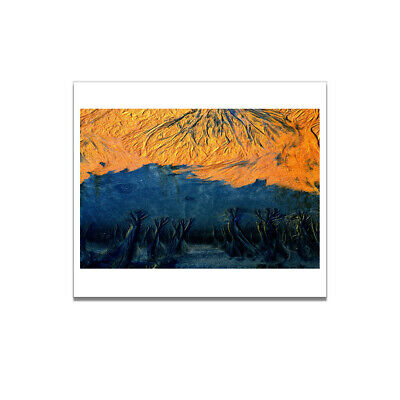 Art Painting Sand Abstract Poster Living Room Picture Wall Canvas Decor Gifts