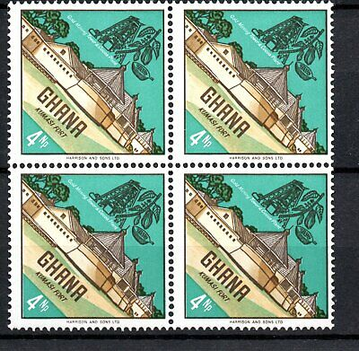 Ghana. 1967. SG 475    Very attractive block of mint stamps.