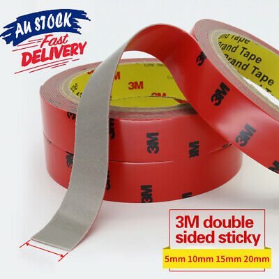 3m Sticky Strong Roll Permanent Resistant Stick Double Sided Tape Versatile Heat