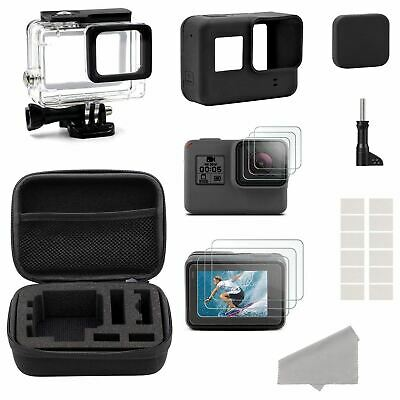 Accessories for GoPro Hero HD (2018) /6/5 Black Starter Kit Travel Case Sma Q4R5