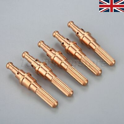 9-8215 Plasma Cutting Consumable Electrode for SL60 SL100 30A-120A 5PCS UK STOCK