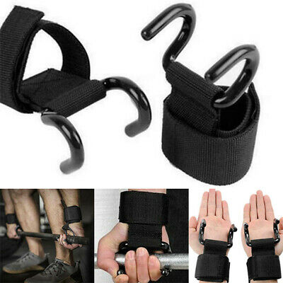 Black and Fourth Weight Lifting Straps Pair IronMind Extra Length BEST!