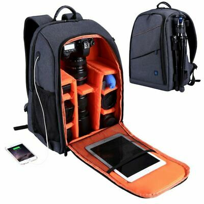 PULUZ Outdoor Portable Waterproof Scratch-proof Dual Shoulders Backpack Cam E7B9