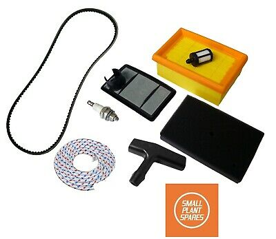 STIHL TS400 Service Kit Air Filter, Belt, handle, Rope, Plug, fuel filter