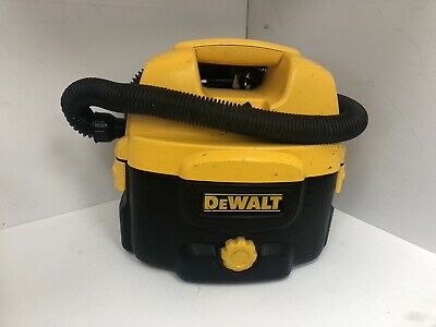 Dewalt Dc500 - 240V And Battery Operated Wet And Dry Vacuum Cleaner
