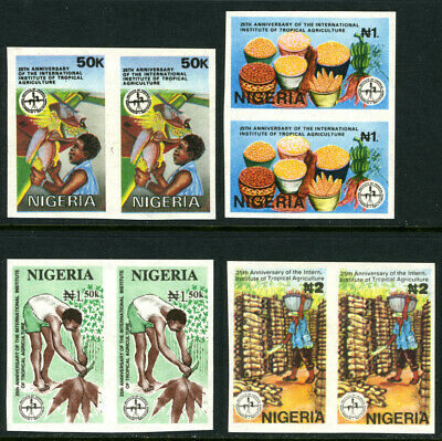 Nigeria 1992 IMPERFORATE 25th Anniv. of Inter. Institute of Tropical Agriculture