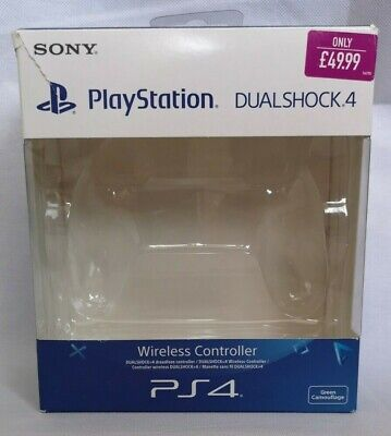 Sony Playstation Dualshock 4 Controller Box for Green Camouflage Pad BOX ONLY