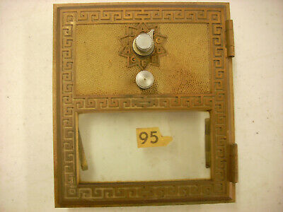 1970 Vintage Post Office Box Door # 95 Combination  by Keyless lock co size # 2