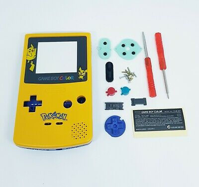 Kit rénovation NEUF Game Boy Color GBC POKEMON Coque / Boîtier / Shell / Case