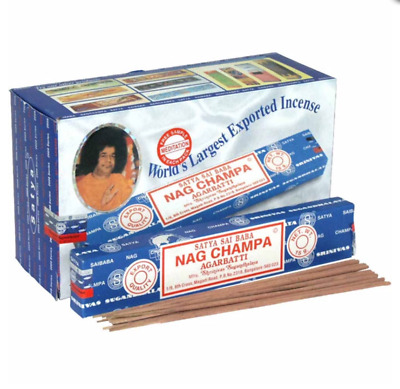 Satya Genuine Nag Champa 15g Incense Sticks Joss 35 diff Incence sents Super Hit