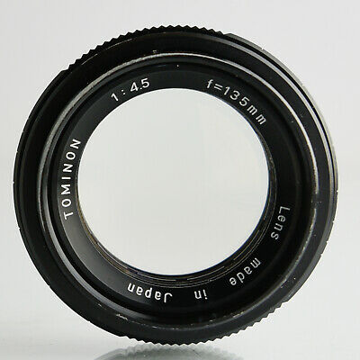 Tominon 135mm f4.5 Barrel lens