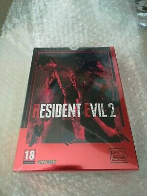 PS4 Resident Evil 2 Remake limited collector pix n love mint ENGLISH [not french