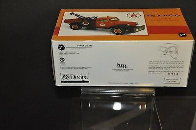 Texaco Dodge Power Wagon Die Cast in Original box