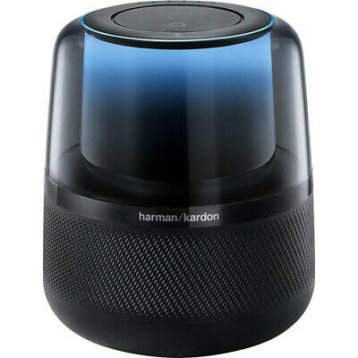Harman Kardon Allure Voice-Activated Speaker (Black) - HKALLUREBLKAM