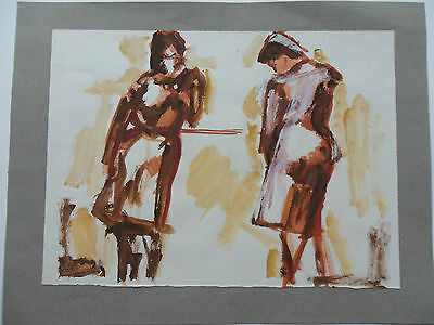 Follower Of Max Papart Signed Painting