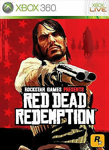 Red Dead Redemption Xbox 360 Game Uk Pal Nm