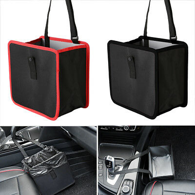 Small Bin Car Trash Garbage Rubbish Hanging Foldable Waste Basket
