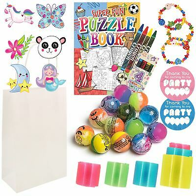 Kids Thank You for Coming to My Party Bags Favours  Gift Bag For Girls