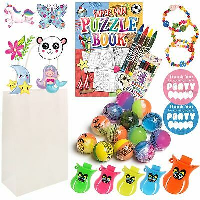 Childrens Thank You for Coming to My Party Bags Favours  Gift Bag For Girls