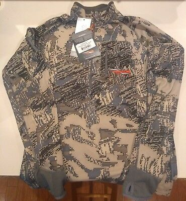 NEW Sitka Gear Traverse Zip T Optifade Open Country Camo 10001-OB-S Small Shirt