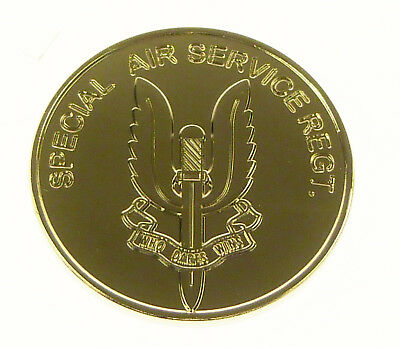 Sas Special Air Service Commemorative Rare Double Sided Collectors Coin