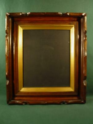 Handsome Vintage Antique Victorian Shadow Box Picture Frame 15X17 Nice!
