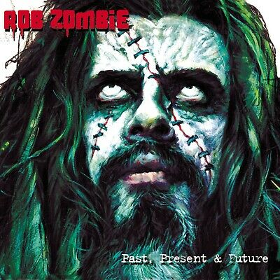 ROB ZOMBIE Past Present & Future BANNER HUGE 4X4 Ft Fabric Poster Flag Tapestry