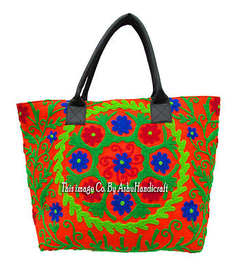 fc750ff3abe9 Woman Indian Handbags Tote Shoulder Bag Handmade Ethnic Embroidery Canvas  Bag S