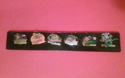 Series 4 Antique Cars Pins Set Of 6 year 2000