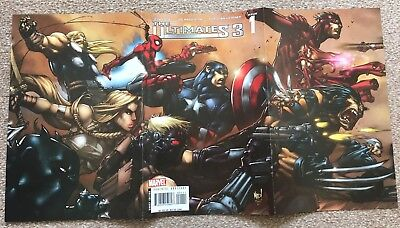 Ultimates 3 – issue 1 (2007) - FIRST PRINT
