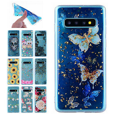 Bling Glitter Soft Clear Shockproof Case Cover For Samsung Galaxy S10+/Note 9/S9
