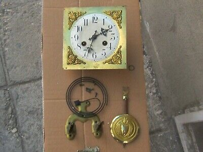 Rare Antique German Regulator Wall Clock Junghans movement /a11/ FULL SET- Works