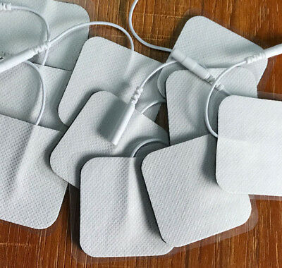 Tens Machine Self Adhesive Reusable Electrode Pads 5x5cm Massage Replacement Pad