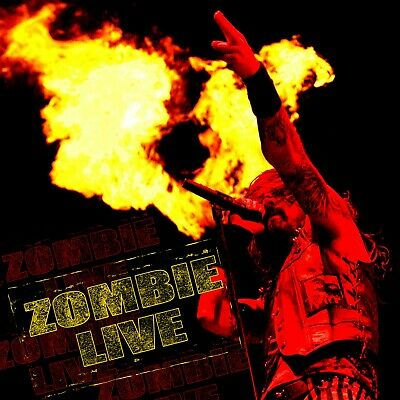 ROB ZOMBIE Zombie Live BANNER HUGE 4X4 Ft Fabric Poster Tapestry Flag album art