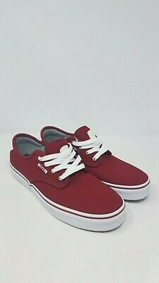 92de7bba35 Vans Chima Ferguson Pro Vn000Xkzk1J Red Dahlia Skate Shoes Youths Us Size  5.5