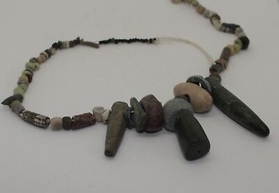 Ancient Roman Mixed Glass Bead Necklace Circa 2Nd Century Ad - No Reserve