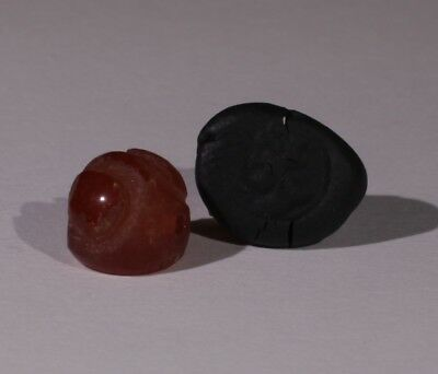 Ancient Carved Agate Stone Seal - Circa 500Bc  - No Reserve 01