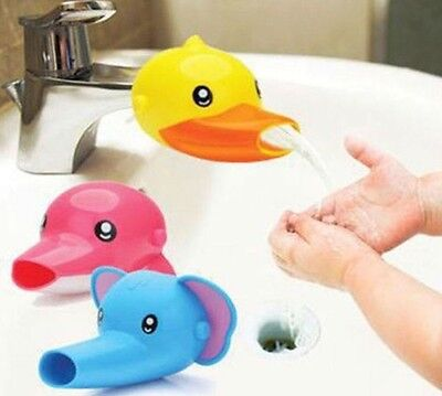 Kid Hand Washing in Bathroom Sink Faucet Extender For Helps Children *US SELLER*