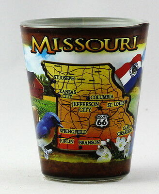 Missouri State Collage Shot Glass Rtp