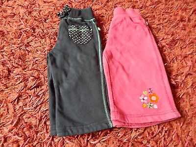 Baby Girls ~ 2 X Mothercare ~ Joggers ~ Size 3-6 Months ~ VGC ~ BOX A13
