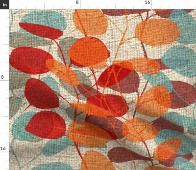 Mid Century Modern Home Decor Vintage Fabric Printed by Spoonflower BTY