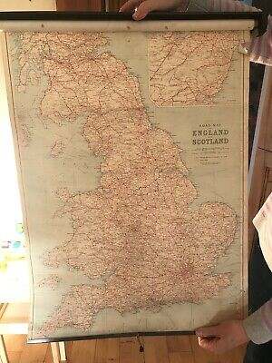 Quikway Roll-Map Of England And Wales