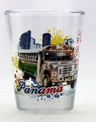 Panama Bus Shot Glass Shotglass