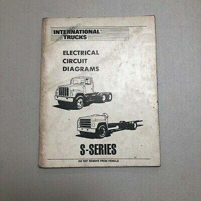 international trucks electrical circuit diagrams s-series